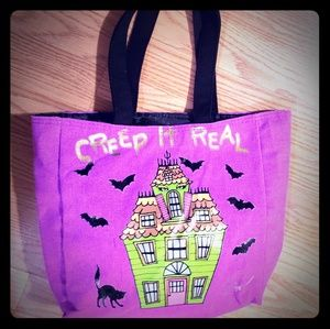 'Creep it real' Betsey Johnson bag
